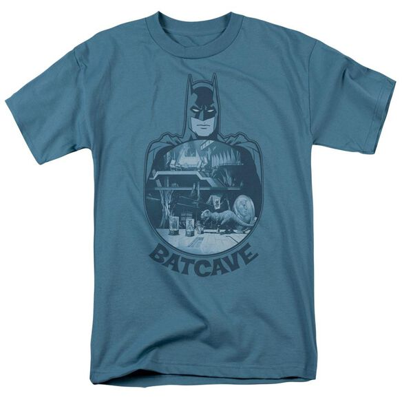 Batman Batcave Short Sleeve Adult T-Shirt