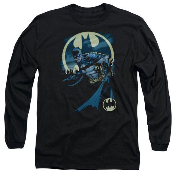 Batman Heed The Call Long Sleeve Adult T-Shirt