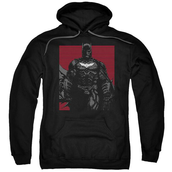 Dark Knight Rises Bat Lines Adult Pull Over Hoodie