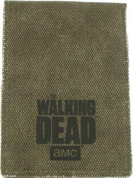 Walking Dead Rick Sheriff Badge Wallet