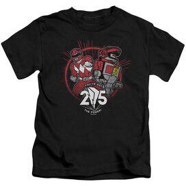 Power Rangers Red 25 Short Sleeve Juvenile T-Shirt