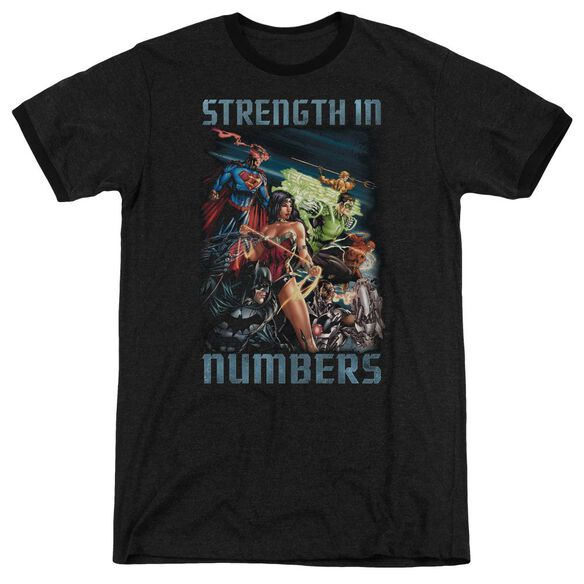 Jla Strength In Number Adult Heather Ringer