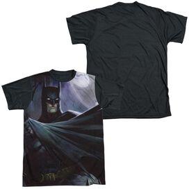 Infinite Crisis Batman Vs Joker Short Sleeve Adult Front Black Back T-Shirt