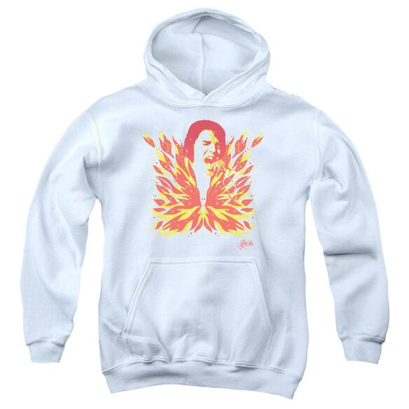 Elvis Presley His Latest Flame Youth Pull Over Hoodie