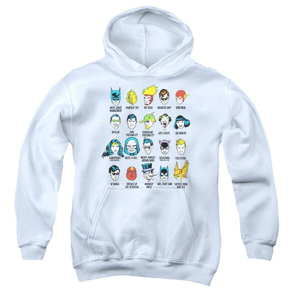 Dc Superhero Issues Youth Pull Over Hoodie