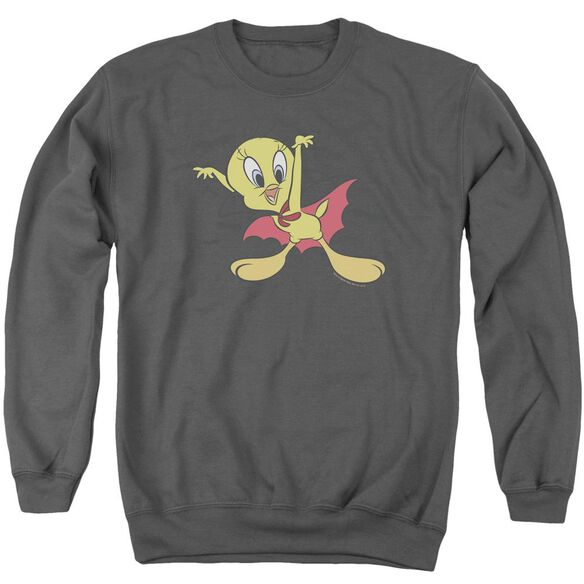 Looney Tunes Vampire Tweety Adult Crewneck Sweatshirt