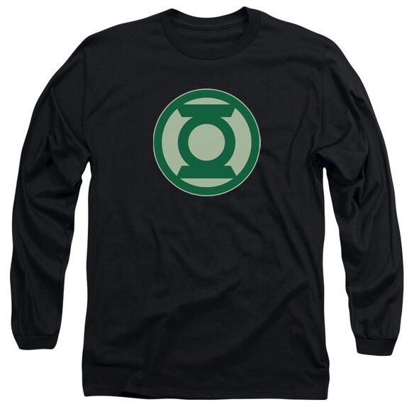 Green Lantern Green Symbol Long Sleeve Adult T-Shirt
