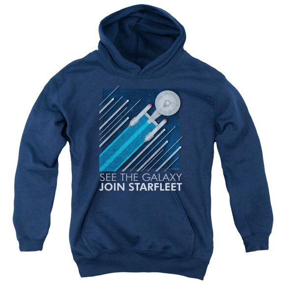 Star Trek Starfleet Recruitment Poster Youth Pull Over Hoodie