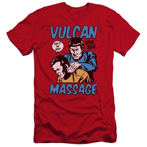 Star Trek Massage Premuim Canvas Adult Slim Fit