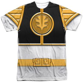 Power Rangers Ranger Short Sleeve Adult Poly Crew T-Shirt