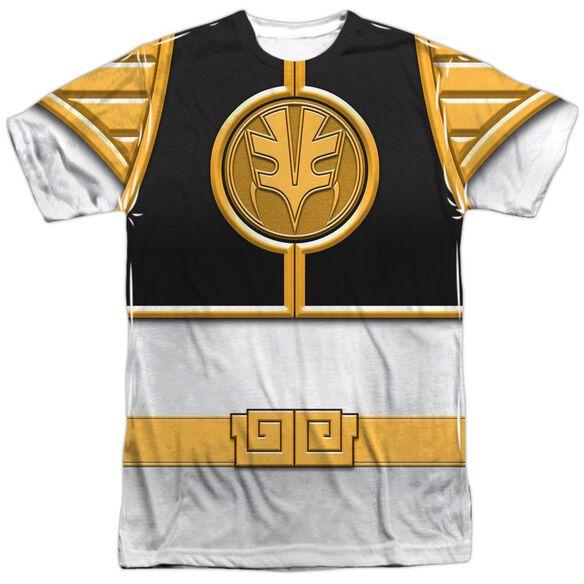 Power Rangers Ranger Short Sleeve Adult Poly Crew T-Shirt