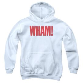 Wham Logo Youth Pull Over Hoodie