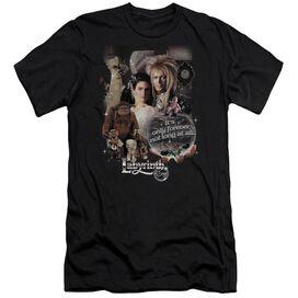 LABYRINTH 25 YEARS OF MAGIC - S/S ADULT 30/1 - BLACK T-Shirt