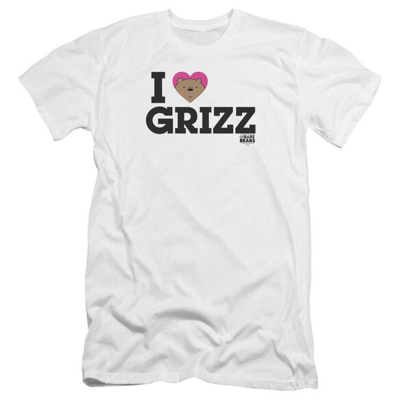 We Bare Bears Heart Grizz Hbo Short Sleeve Adult T-Shirt