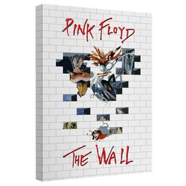 Roger Waters The Wall 2 Canvas Wall Art With Back Board
