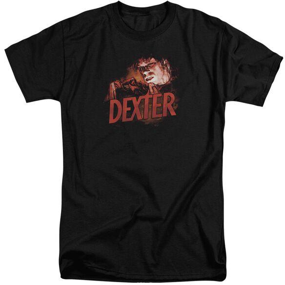 Dexter Drawing Short Sleeve Adult Tall T-Shirt
