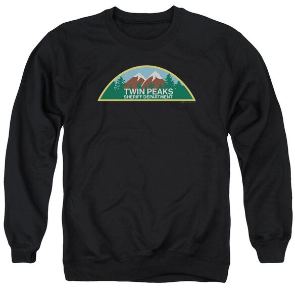 Twin Peaks Sheriff Department Adult Crewneck Sweatshirt