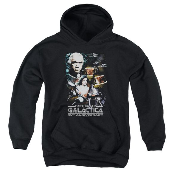 Bsg 35 Th Anniversary Collage Youth Pull Over Hoodie