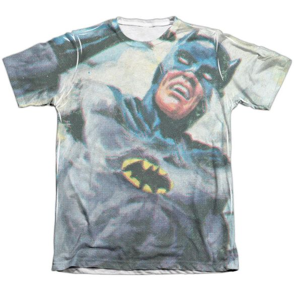 Batman Classic Tv Foliage Adult Poly Cotton Short Sleeve Tee T-Shirt