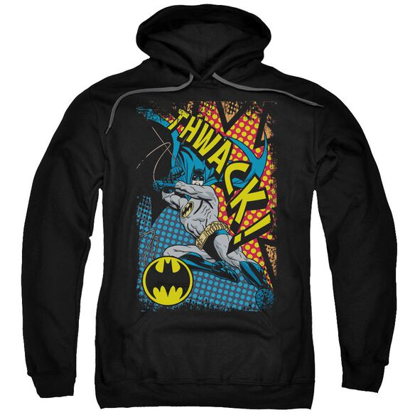 Batman Thwack Adult Pull Over Hoodie