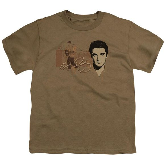 Elvis At The Gates Short Sleeve Youth Safari T-Shirt