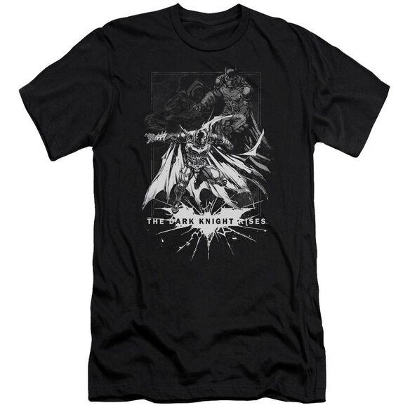 Dark Knight Rises Rising Sketch Short Sleeve Adult T-Shirt
