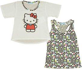 Hello Kitty Hearts Ladies Tee Combo