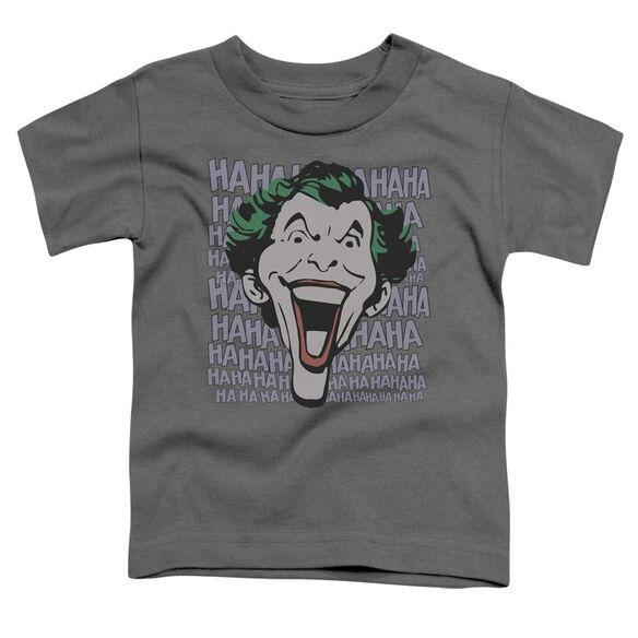 Dc Dastardly Merriment Short Sleeve Toddler Tee Charcoal Sm T-Shirt