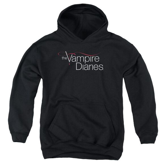 Vampire Diaries Tvd Logo Youth Pull Over Hoodie