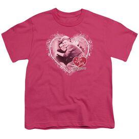 I Love Lucy Happy Anniversary Short Sleeve Youth T-Shirt