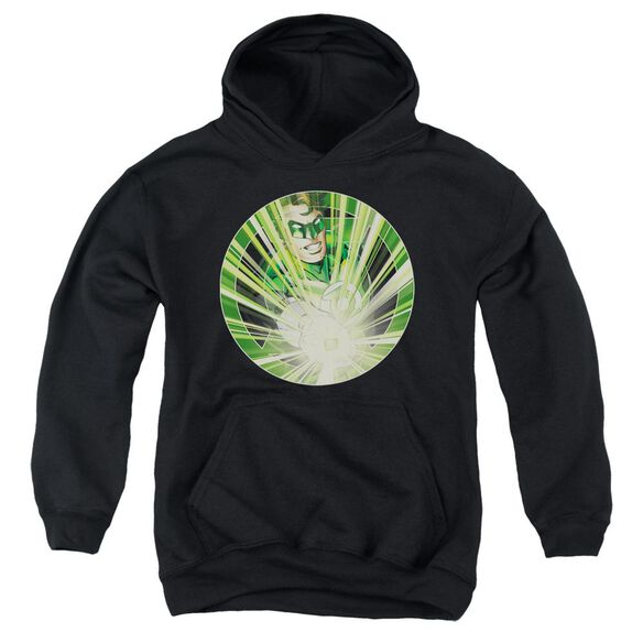 Green Lantern Light Em Up Youth Pull Over Hoodie