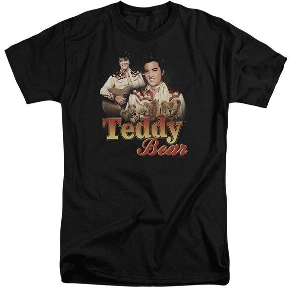 Elvis Teddy Bear Short Sleeve Adult Tall T-Shirt
