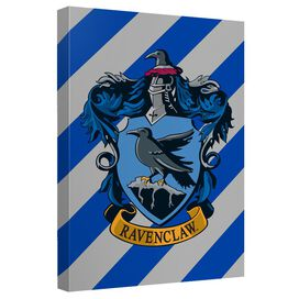 Harry Potter Ravenclaw Crest Canvas Wall Art With Back Board
