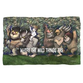Where The Wild Things Are Wild Rumpus Dance Fleece Blanket