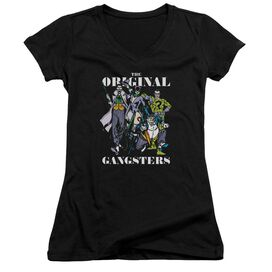 Dc Original Gangsters Junior V Neck T-Shirt