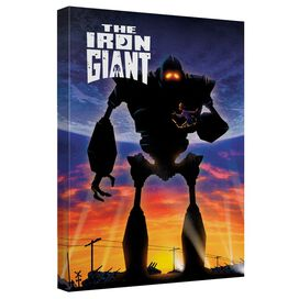 Iron Giant Poster Canvas Wall Art With Back Board