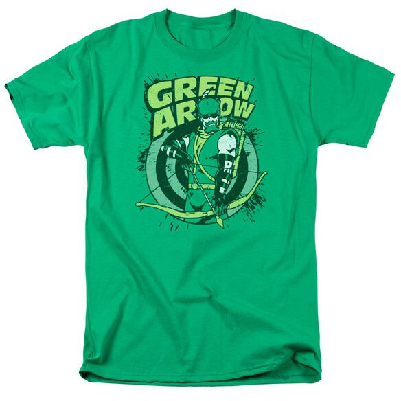 Dc On Target Short Sleeve Adult Kelly T-Shirt