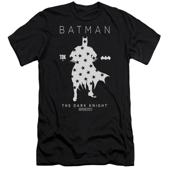 Batman Star Silhouette Short Sleeve Adult T-Shirt