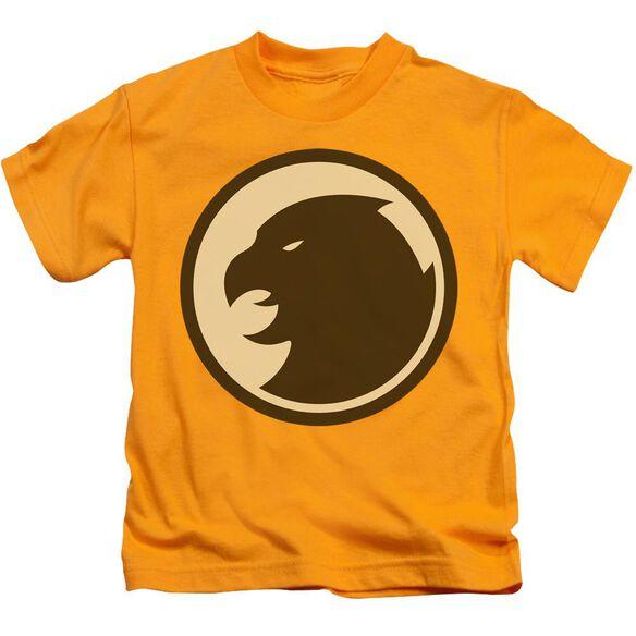 Dco Hawkman Symbol Short Sleeve Juvenile Gold T-Shirt