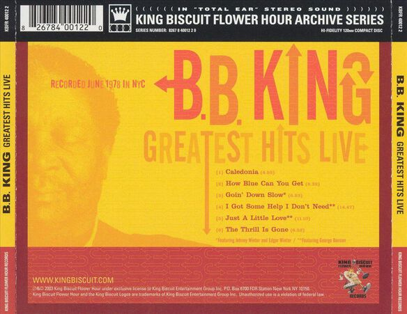 Greatest Hits Live 0703