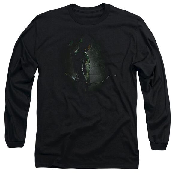 Arrow In The Shadows Long Sleeve Adult T-Shirt