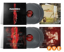 Brian Tyler - Rambo Last Blood Original Motion Picture Soundtrack [Exclusive Combat Knife Silve 2LP Vinyl]