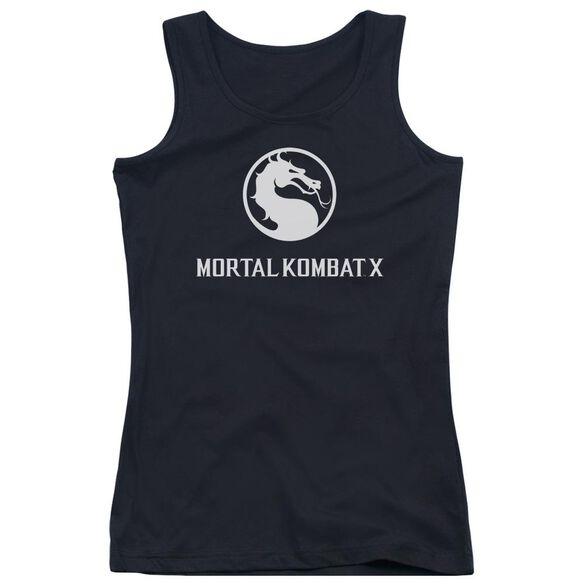 Mortal Kombat X Dragon Logo Juniors Tank Top