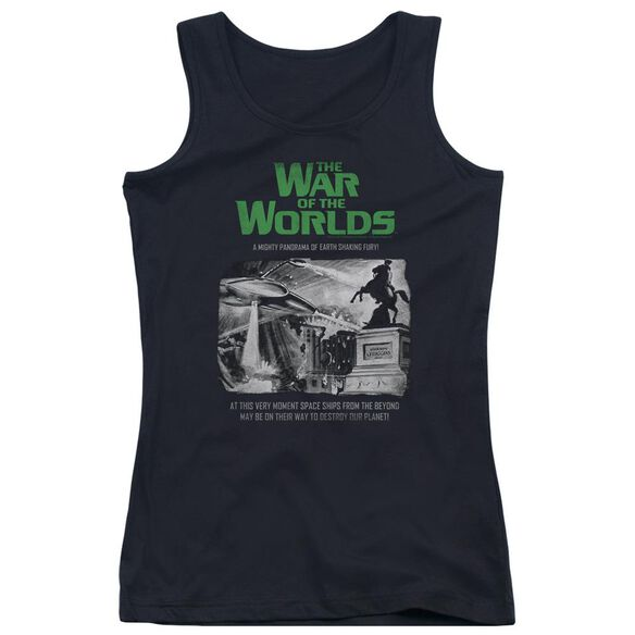 War Of The Worlds Attack People Poster Juniors Tank Top