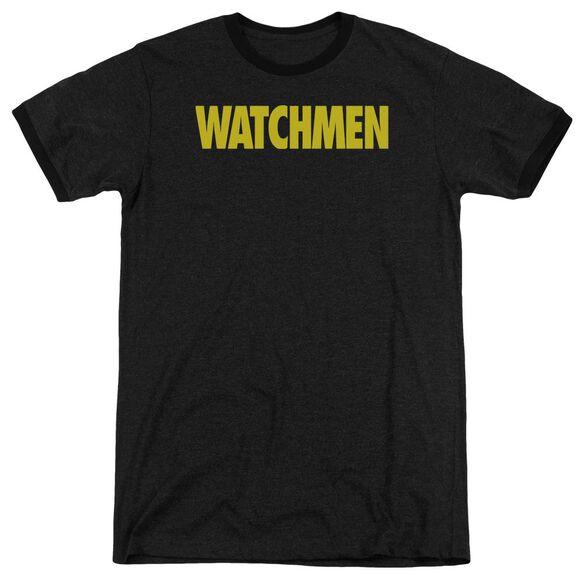 Watchmen Logo Adult Heather Ringer