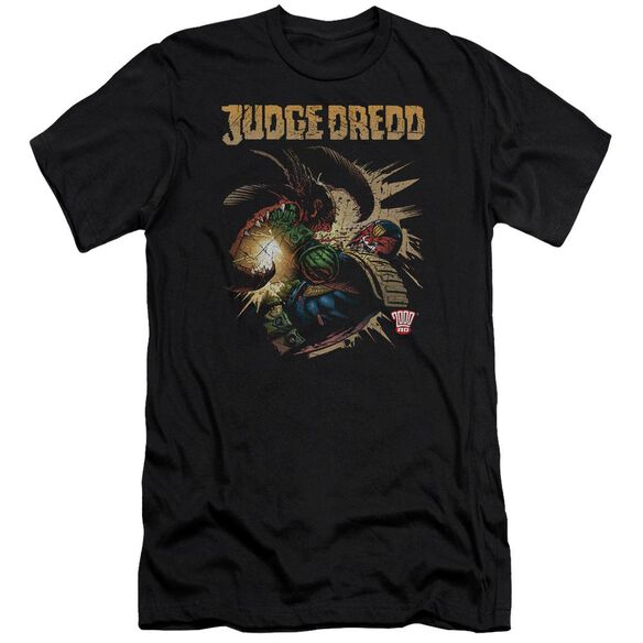 Judge Dredd Blast Away Short Sleeve Adult T-Shirt