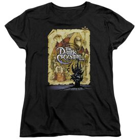 Dark Crystal Poster Short Sleeve Womens Tee T-Shirt