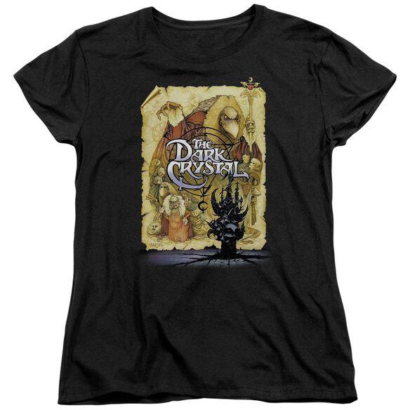 Dark Crystal Poster Short Sleeve Womens Tee T-Shirt