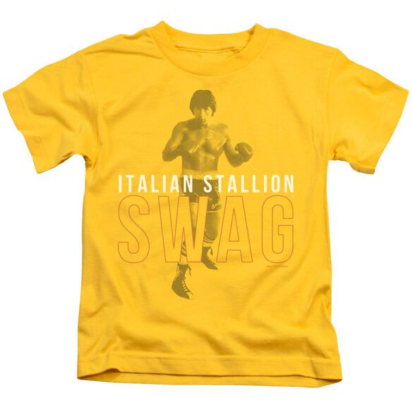 Rocky Stallion Swag Short Sleeve Juvenile T-Shirt