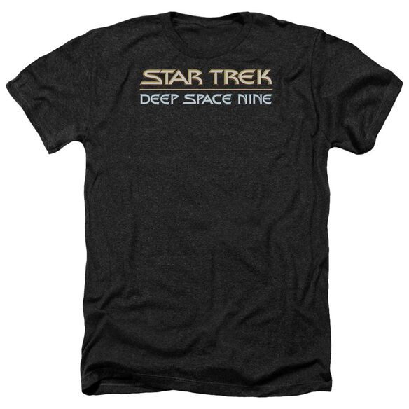 Star Trek Deep Space Nine Logo Adult Heather